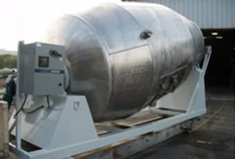 Stainless steel food-grade mixer