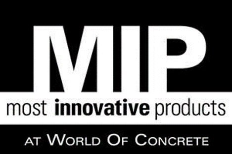 most innovative products at world of concrete logo