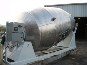 stainless steel food mixer