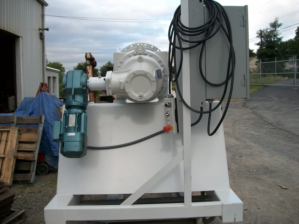 stationary mixer unit